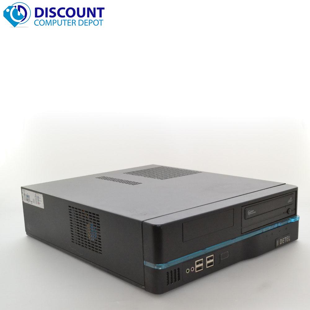 custom compact desktop computer pc 4gb 320gb intel core i3 windows 10 pro wifi ebay. Black Bedroom Furniture Sets. Home Design Ideas